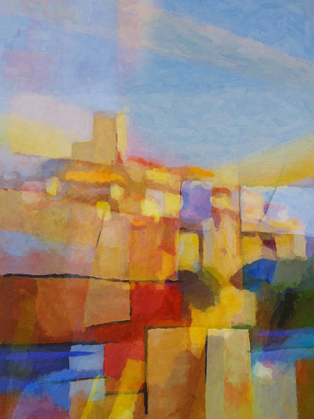 Painting - French Impression by Lutz Baar