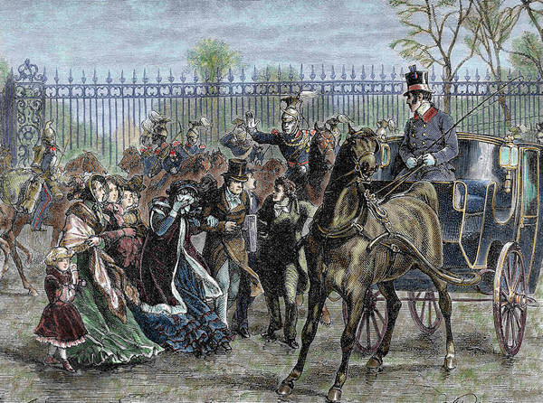 French Liberal Revolution (february 1848 Art Print