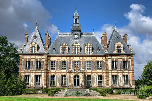 Wall Art - Photograph - French Mansion by Olivier Le Queinec