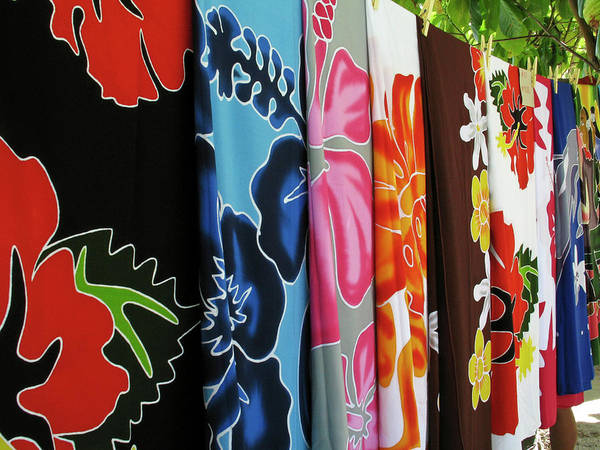 Clothesline Photograph - French Polynesia by Jaynes Gallery
