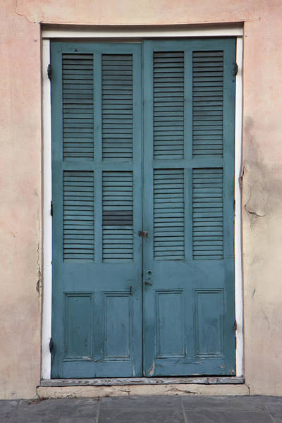 Photograph - French Quarter Doors by KG Thienemann