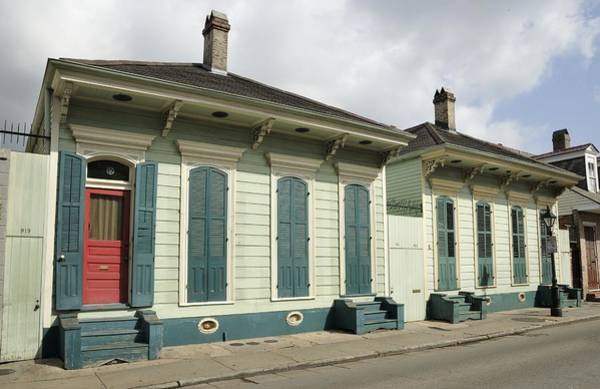 Photograph - French Quarter Houses by Bradford Martin