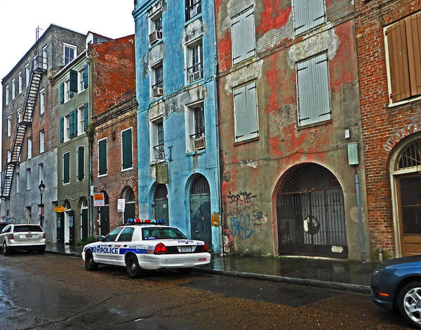 Photograph - French Quarter In New Orleans by Louis Maistros