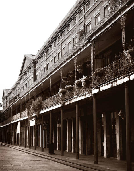 Photograph - French Quarter by Val Stone Creager