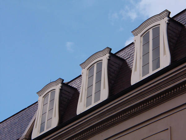 Photograph - French Quarter Windows 1 by Kathy K McClellan