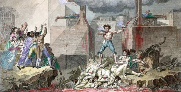 Wall Art - Photograph - French Revolution by Library Of Congress/science Photo Library