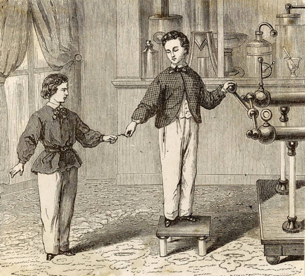 Wall Art - Drawing - French Schoolboys Illustrate  How by Mary Evans Picture Library