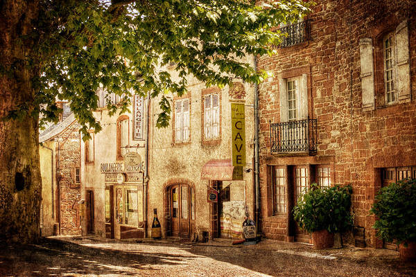 Photograph - French Village Street / Meyssac by Barry O Carroll