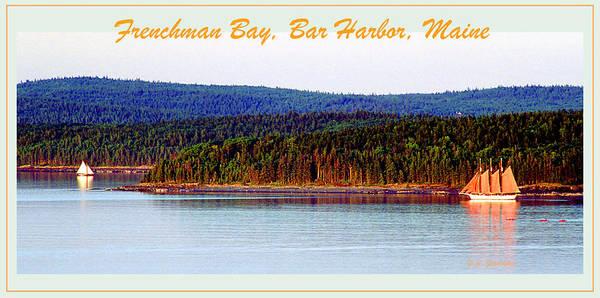 Bar Harbor Digital Art - Frenchman Bay Bar Harbor Maine by A Gurmankin