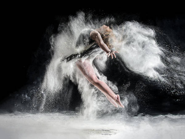 Acrobat Wall Art - Photograph - Frenzy by Pauline Pentony Ba