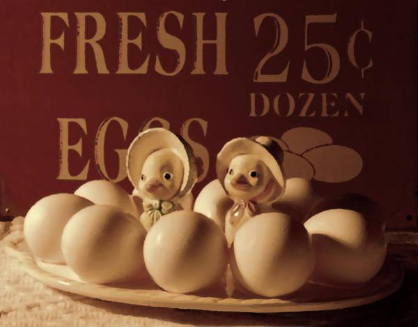 Photograph - Fresh Eggs by Grace Dillon