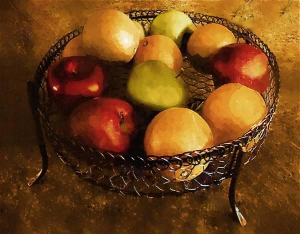 Painting - Fresh Fruit Fresco by RC DeWinter