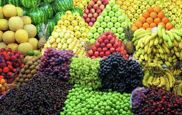 Retail Photograph - Fresh Fruit by Michelle Mcmahon