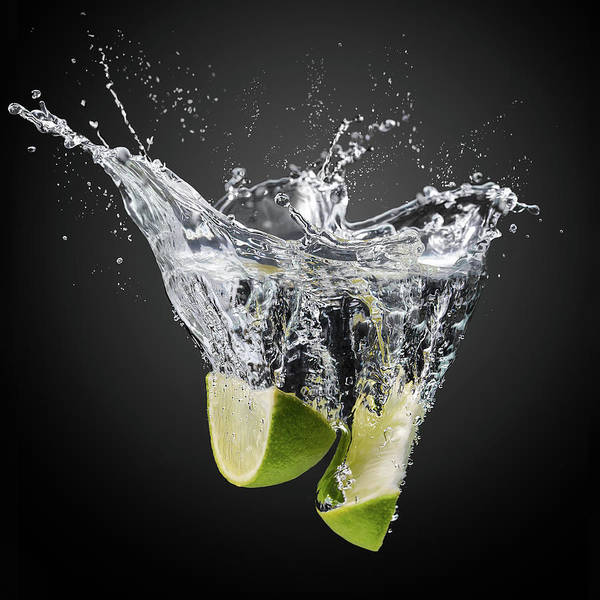 Studio Photograph - Fresh Limes! by Isma Yunta