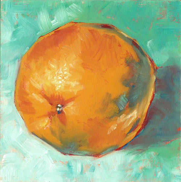Wall Art - Painting - Fresh Orange by Pam Talley