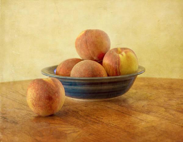 Photograph - Fresh Peaches by Kim Hojnacki