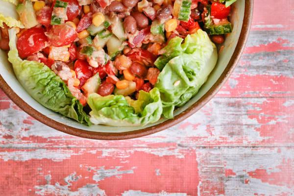 Fruit Salad Photograph - Fresh Salad by Tom Gowanlock