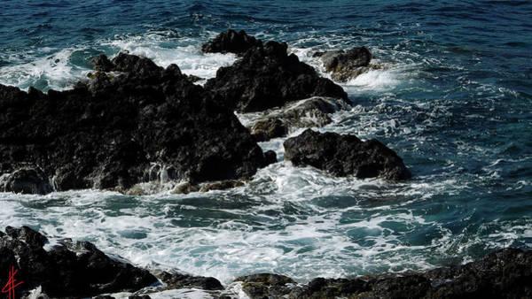 Photograph - Fresh Santorini Island Ocean  Greece by Colette V Hera  Guggenheim