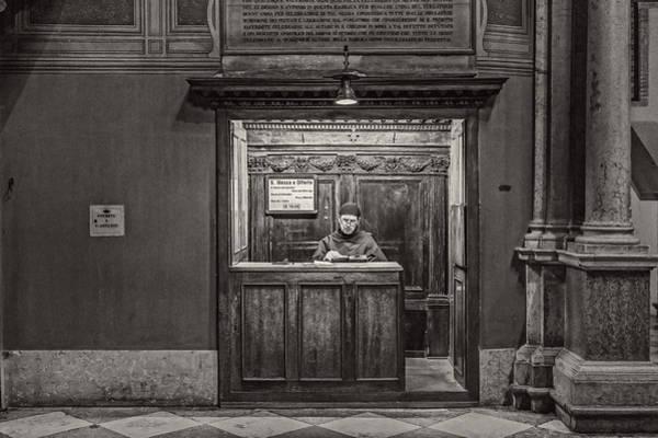 Photograph - Friar by Roberto Pagani