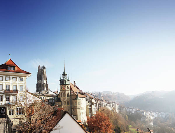 Old Photograph - Fribourg, Switzerland by R-j-seymour