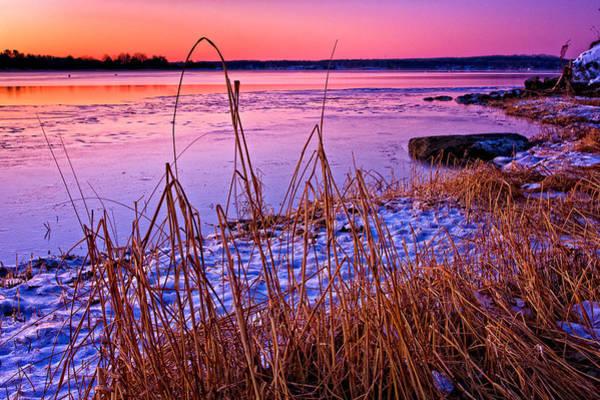 Photograph - Fridged Sunrise by Jeff Sinon