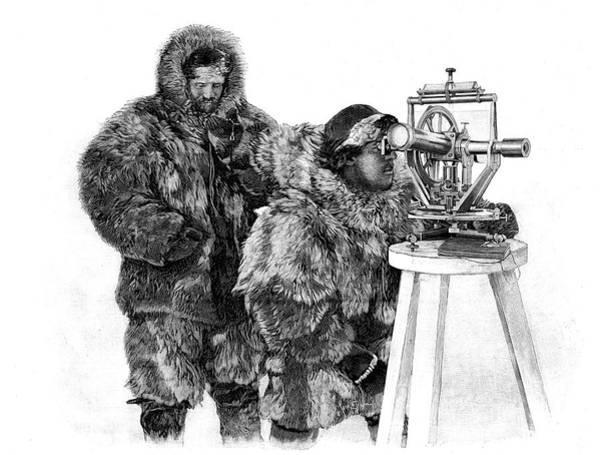 1888 Photograph - Fridtjof Nansen by Collection Abecasis