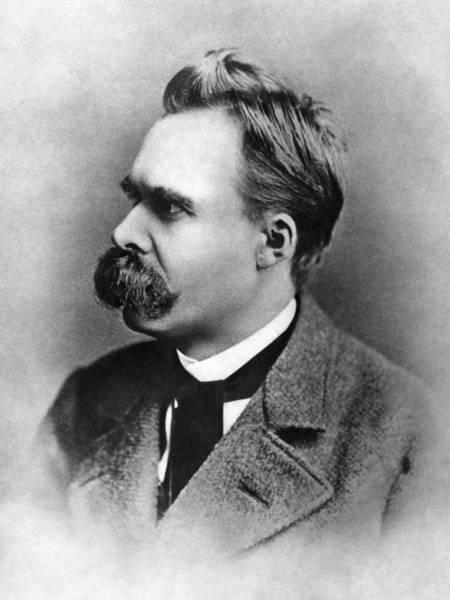 Photograph - Friedrich Nietzsche (1844-1900) by Granger