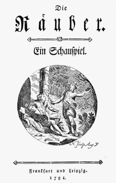 1781 Painting - Friedrich Schiller (1759-1805) by Granger