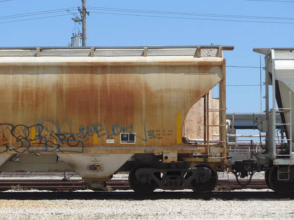 Photograph - Frieght Train Cars 9 by Anita Burgermeister
