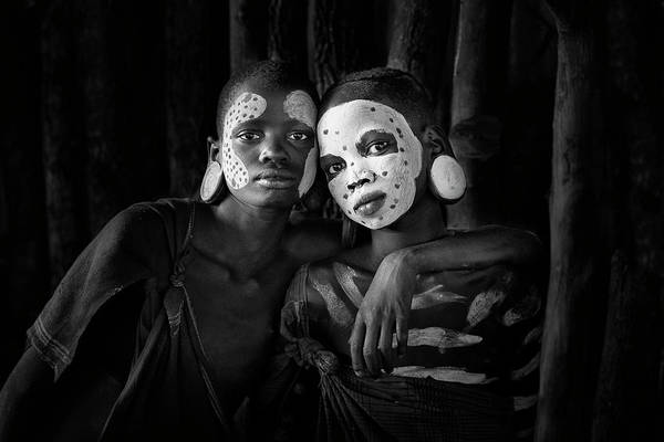 Africa Photograph - Friends by Jose Beut
