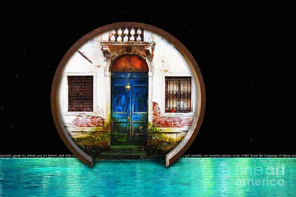 Digital Art - Friendship Door by Lisa Redfern