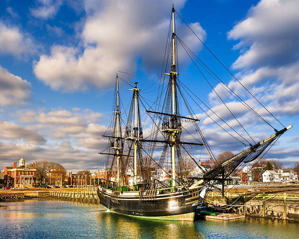 Friendship Of Salem At Harbor Art Print
