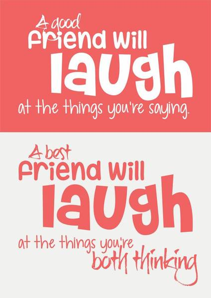 Wall Art - Digital Art - Friendship Typography Print Poster by Lab No 4 - The Quotography Department