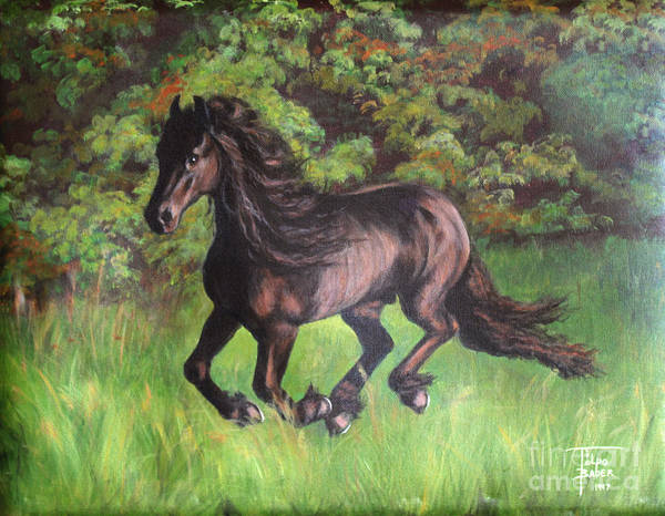 Painting - Friesian Way by Art By - Ti   Tolpo Bader
