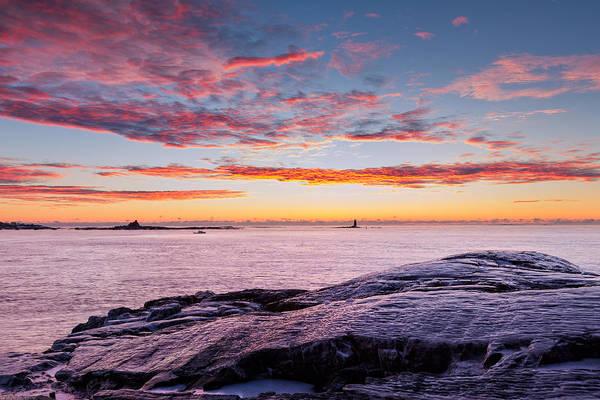 Photograph - Frigid Sunrise by Jeff Sinon