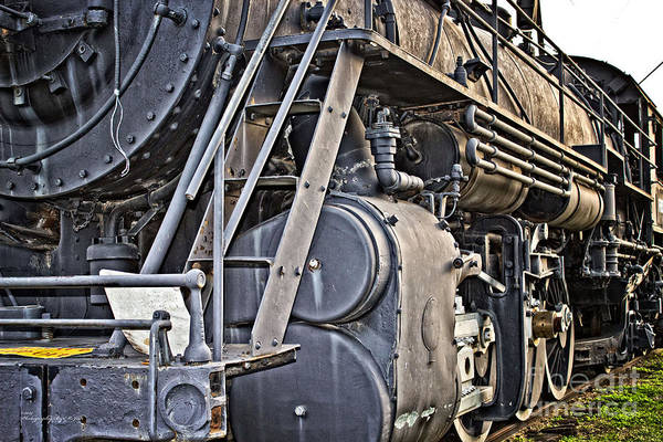 Photograph - Frisco Train Locomotive Two by Ms Judi