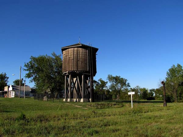 Photograph - Frisco Water Tower  by Keith Stokes