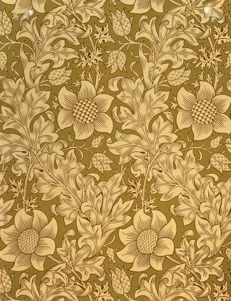 Fritillary Wall Art - Tapestry - Textile - Fritillary Wallpaper Design by William Morris