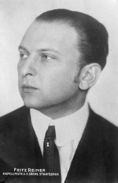 Reiner Photograph - Fritz Reiner (1888-1963) by Granger