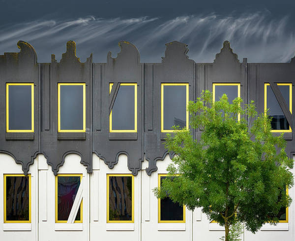Wall Art - Photograph - Frivolous Facade by Greetje Van Son