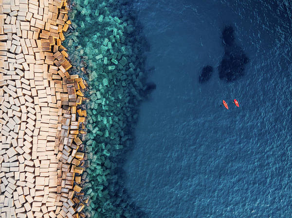 Bricks Photograph - From Above II by Antonio Carrillo Lopez