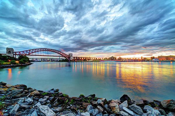 Astoria Bridge Photograph - From Astoria, Queens by Tony Shi Photography