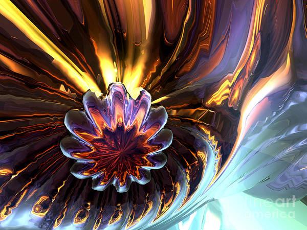 Fabulous Digital Art - From Beyond Abstract by Alexander Butler