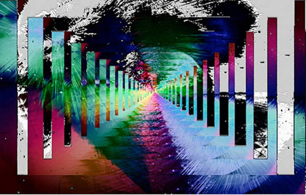 Atomic Weapons Digital Art - From Hiroshima To The New Age by Rebecca Phillips