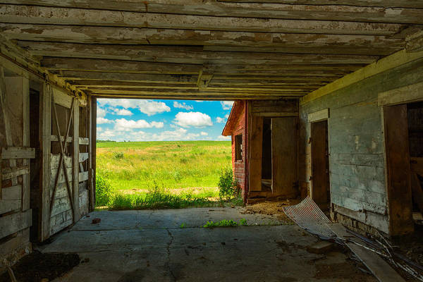 Somerset County Photograph - From Inside The Barn by Clare Kaczmarek