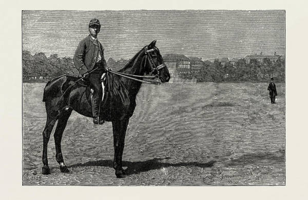 Wall Art - Drawing - From Karlsruhe To The Hague On Horseback, 1889. Lieutenant by Litz Collection