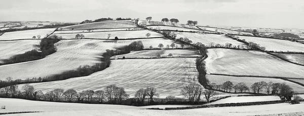 Photograph - From Raddon Top In The Snow by Pete Hemington