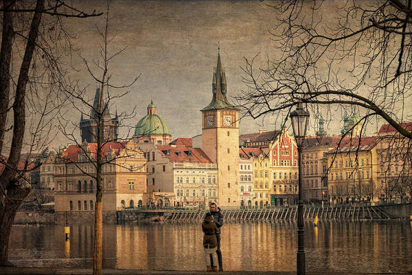 Praha Wall Art - Photograph - From Strelecky Island by Joan Carroll