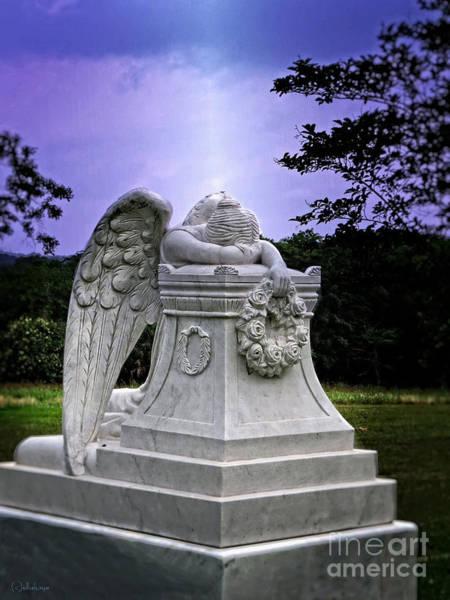 Angel Of Peace Photograph - Perpetual Angel by Ella Kaye Dickey