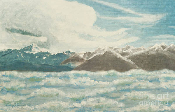 Painting - From The Mountains To The Ocean by Andee Design
